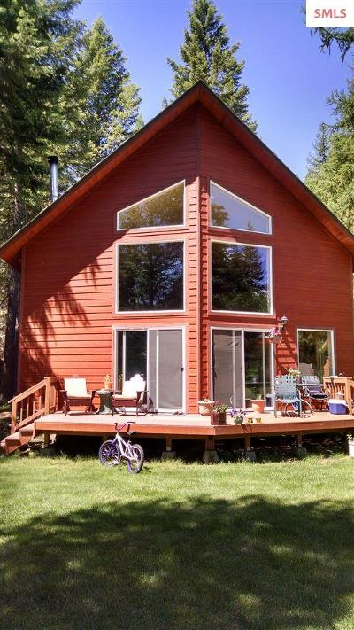 Priest Lake, Priest River Single Family Home For Sale: 45 Chinook Way