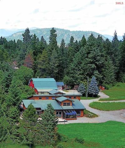 sagle Single Family Home For Sale: 5650 Jewel Lake Road