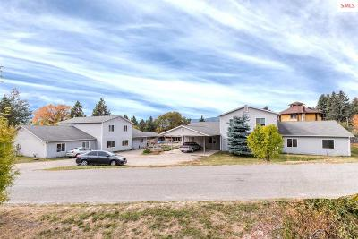 Bonners Ferry Single Family Home For Sale: 6646 & 6652 Chippewa Drive