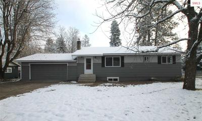Coeur D'alene Single Family Home For Sale: 1030 N 16th St