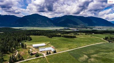 Bonners Ferry Residential Lots & Land For Sale: 1324 Turner Hill Road (93 Acre)