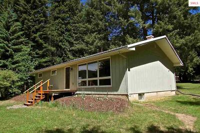 Sandpoint Single Family Home For Sale: 54 Colburn Culver Rd