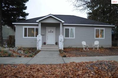 Sandpoint Single Family Home For Sale: 1211 W Lake Street