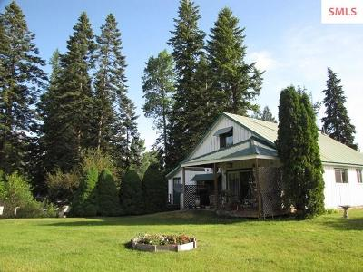 Sandpoint Single Family Home For Sale: 225 White Tail Farm