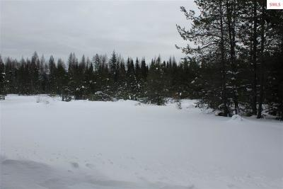 Sandpoint Residential Lots & Land For Sale: Nka White Mountain Road (20 Acres)