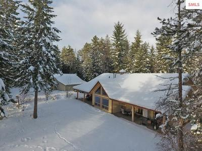 Bonners Ferry Single Family Home For Sale: 568 Shingle Mill Loop