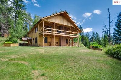 Sandpoint Single Family Home For Sale: 476 Jim Rd
