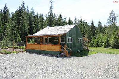 Moyie Springs Single Family Home For Sale: 4400 Old Highway 2 Loop