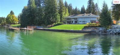 Sandpoint Single Family Home For Sale: 1735 Lakeshore Drive