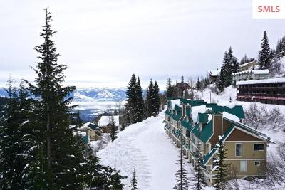 Sandpoint Condo/Townhouse For Sale: 8707 Schweitzer Mountain Rd. Unit 301
