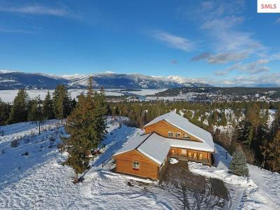 Bonners Ferry Single Family Home For Sale: 690 Shamrock Rd