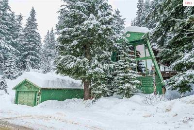 Mountainside, Schweitzer Single Family Home For Sale: 8120 Schweitzer Mountain Road