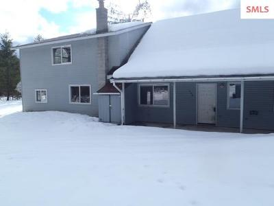 Clark Fork ID Single Family Home For Sale: $220,000