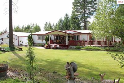 Oldtown Single Family Home Contingent W/Bump Clause: 4746 Old Priest River Rd