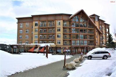 Sandpoint Condo/Townhouse For Sale: 124 Village Lane Unit 408