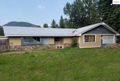 Clark Fork ID Single Family Home For Sale: $199,000