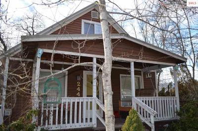 Sandpoint Single Family Home For Sale: 244 Kootenai 4th Avenue