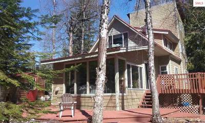 Sandpoint Single Family Home For Sale: 1577 Rolling Thunder Ridge