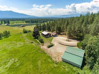 Moyie Springs Single Family Home For Sale: 168 Dawson Rd