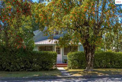 Sandpoint Single Family Home For Sale: 523 N Florence