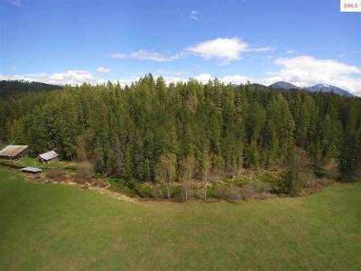 Sandpoint Residential Lots & Land For Sale: 496 Old Highway Road ( 42 Acres )