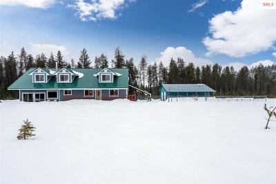Priest River Single Family Home For Sale: 101 Bluebird Lane