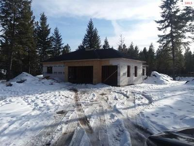 Moyie Springs Single Family Home For Sale: 46 Jaden Ct.
