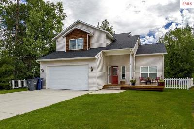 Sandpoint Single Family Home For Sale: 401 Louis Lane