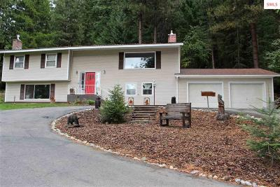 Bonners Ferry Single Family Home For Sale: 6485 Tannenbaum Circle