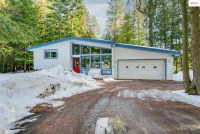 Sandpoint Single Family Home For Sale: 479150 Highway 95 N