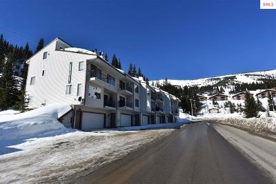 Sandpoint Condo/Townhouse For Sale: 8766 Schweitzer Mnt Rd
