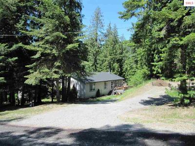 Sagle Single Family Home For Sale: 215 Cedar Hill