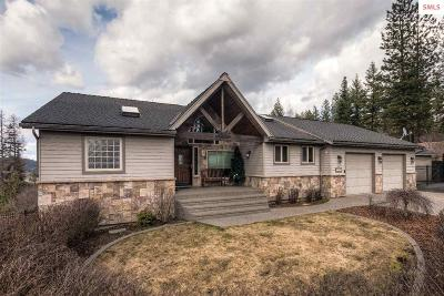 Coeur D'alene Single Family Home For Sale: 5476 West Mica View Road
