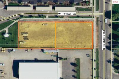 Post Falls Residential Lots & Land For Sale: 3572 &3624 W Tayjan Lane