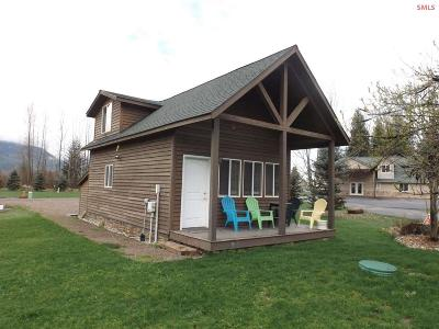 Clark Fork ID Single Family Home For Sale: $119,000