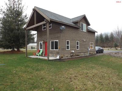 Clark Fork ID Single Family Home For Sale: $129,000