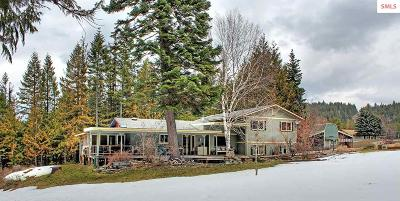 Sandpoint Single Family Home For Sale: 13482 W Pine Street