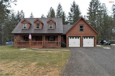 Moyie Springs Single Family Home For Sale: 110 Sheri