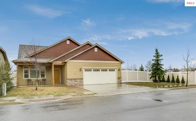 Sandpoint Single Family Home For Sale: 1521 River Rock