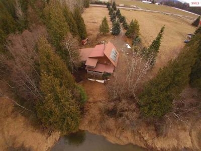 Sandpoint Single Family Home For Sale: 478658 Highway 95