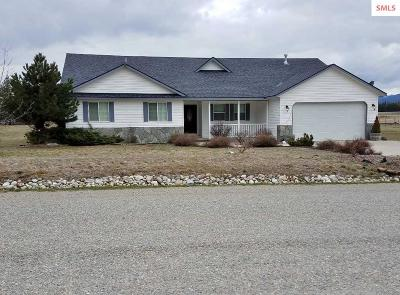 Bonners Ferry Single Family Home For Sale: 4380 Paradise Valley Rd.