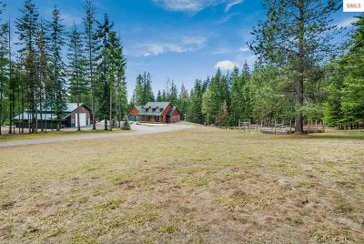Sandpoint Single Family Home For Sale: 196 Konniotto Ln