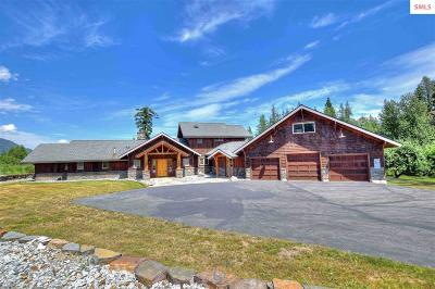 Sandpoint Single Family Home For Sale: 97 Wright Ct