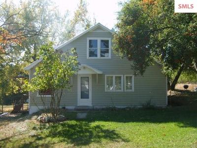 Bonners Ferry Single Family Home For Sale: 256 Roosevelt