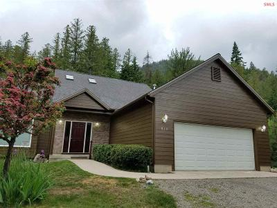 Sandpoint Single Family Home For Sale: 910 Woodland Drive