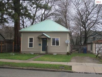 Sandpoint Single Family Home For Sale: 914 Pine