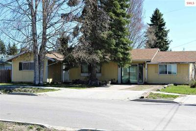 Sandpoint ID Single Family Home For Sale: $177,000