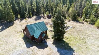 Sagle Single Family Home For Sale: 219 Murphy Rd.