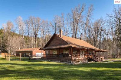 Sagle Single Family Home For Sale: 1040 Comeback Bay Ln