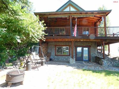 Clark Fork ID Single Family Home For Sale: $389,000